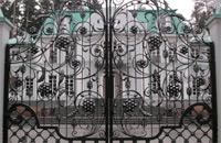 Ворота от компании Художественная ковка Щелково