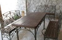 Кованая мебель от компании Художественная ковка Фрязино Щелково